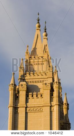 Salt Lake Temple Southeast Spire