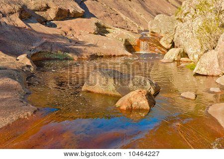 Rockpool In The Grampion Mountains Australia