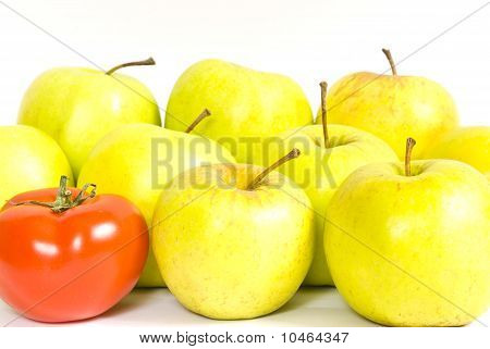 Apples And Tomato