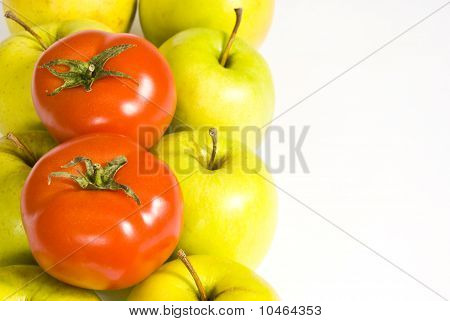 Apples And Two Tomatoes