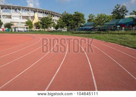 Outdoor Racetrack