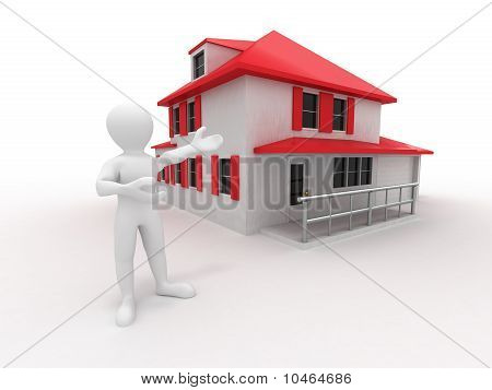 Men With House