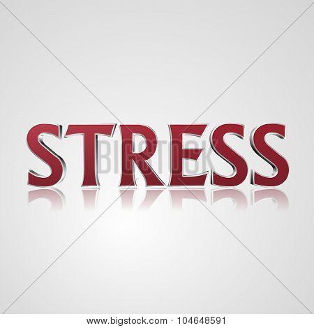 3D Text Stress