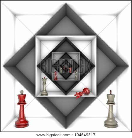Power And Freedom (chess Metaphor)