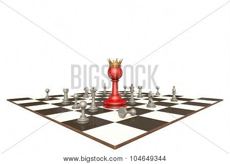 The New Chief (chess Metaphor)