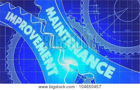 Maintenance Improvement on Blueprint of Cogs.