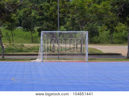 Goal Post In Futsal Court