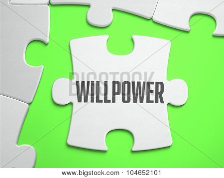 Willpower - Jigsaw Puzzle with Missing Pieces.