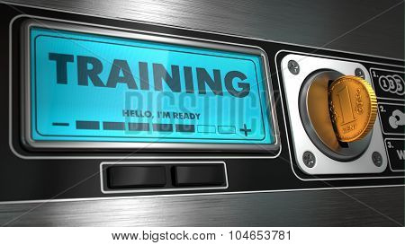 Training on Display of Vending Machine.