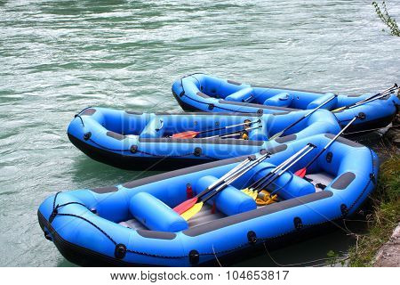 Water Rafting With Rafting Boats
