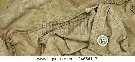 Old Faded Military Army Style Camouflage Wide Background