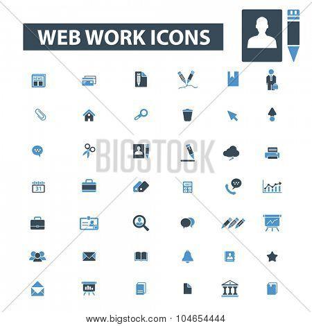 web work icons