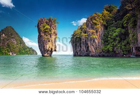 James Bond island near Phuket