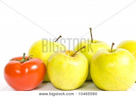Tomato And Apple