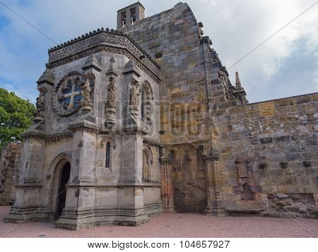 Rosslyn chapel, Scotland
