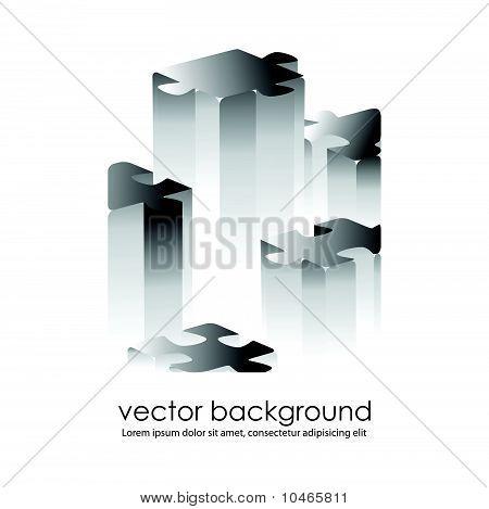 puzzle concept design. vector