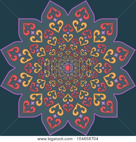 vector Traditional Muslim ornament