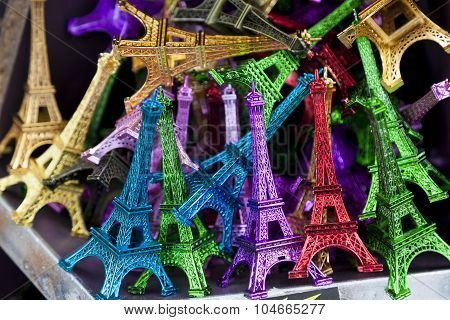 Eiffel Towers, Paris, Ile-de-france, France