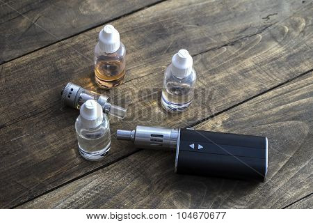 E-cigarettes With Different Re-fill Bottles