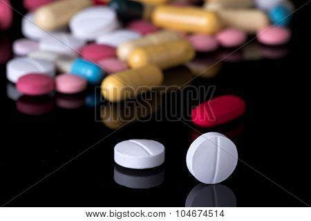 Pills On Pile