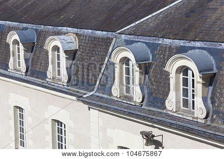 Windows Of The Castle Of Villandry, Indre-et-loire, France