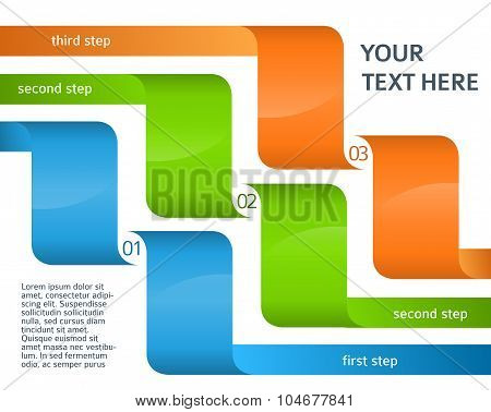 Infographics-layout-presentation-template-options-step