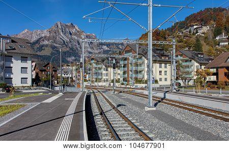 Railroad in Engelberg
