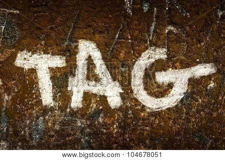 Tag On A Wall