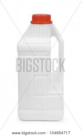 Acrylic primer coating canister isolated on white