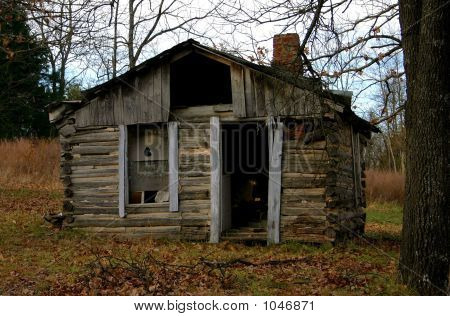 Shack In The Ozark Mountains