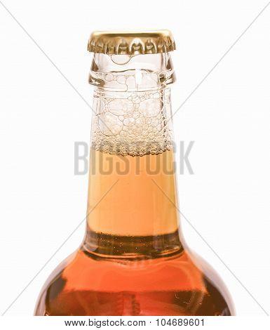 Retro Looking Beer Bottle