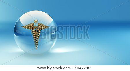 Símbolo de la medicina. Resumen Antecedentes
