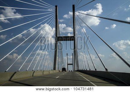 Jekyll Island Sidney Lanier Cable Bridge