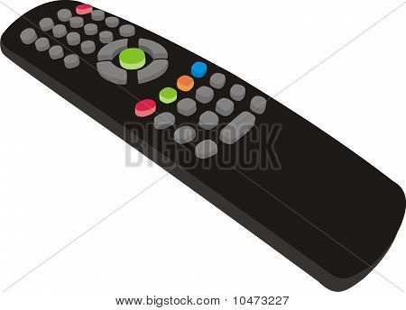 The panel for the TV