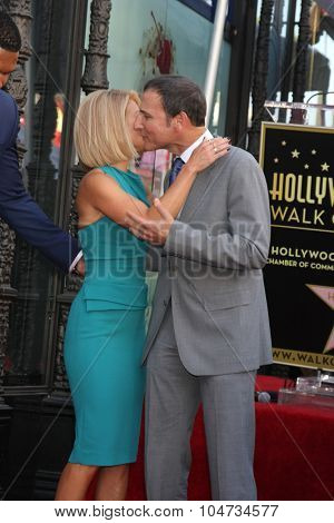 LOS ANGELES - OCT 12:  Kelly Ripa, Michael Gelman at the Kelly Ripa Hollywood Walk of Fame Ceremony at the Hollywood Walk of Fame on October 12, 2015 in Los Angeles, CA