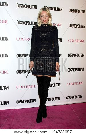 LOS ANGELES - OCT 12:  Caroline Vreeland at the Cosmopolitan Magazine's 50th Anniversary Party at the Ysabel on October 12, 2015 in Los Angeles, CA