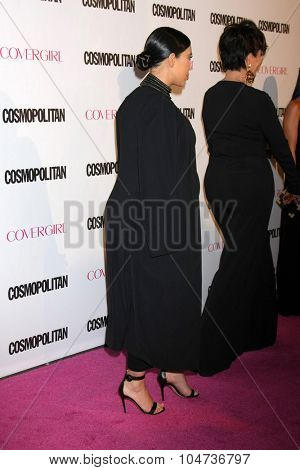 LOS ANGELES - OCT 12:  Kim Kardashian West at the Cosmopolitan Magazine's 50th Anniversary Party at the Ysabel on October 12, 2015 in Los Angeles, CA