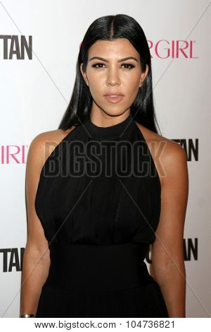 LOS ANGELES - OCT 12:  Kourtney Kardashian at the Cosmopolitan Magazine's 50th Anniversary Party at the Ysabel on October 12, 2015 in Los Angeles, CA