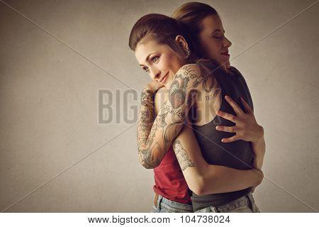 A tender hug