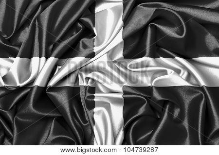Satin Flag - Flag Of Cornwall