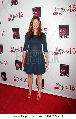 LOS ANGELES - OCT 11:  Dana Delany at the Les Girls 15 at the Avalon Hollywood on October 11, 2015 in Los Angeles, CA