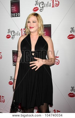 LOS ANGELES - OCT 11:  Adrienne Frantz at the Les Girls 15 at the Avalon Hollywood on October 11, 2015 in Los Angeles, CA