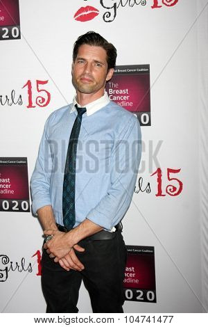 LOS ANGELES - OCT 11:  Scott Bailey at the Les Girls 15 at the Avalon Hollywood on October 11, 2015 in Los Angeles, CA