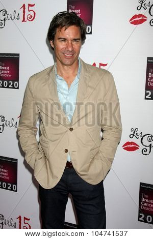LOS ANGELES - OCT 11:  Eric McCormack at the Les Girls 15 at the Avalon Hollywood on October 11, 2015 in Los Angeles, CA