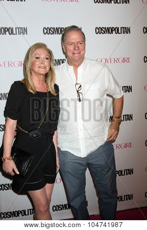 LOS ANGELES - OCT 12:  Kathy Hilton, Rick Hilton at the Cosmopolitan Magazine's 50th Anniversary Party at the Ysabel on October 12, 2015 in Los Angeles, CA