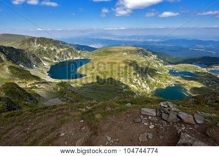 The Fish, The Eye and The Kidney Lakes, The Seven Rila Lakes, Rila Mountain