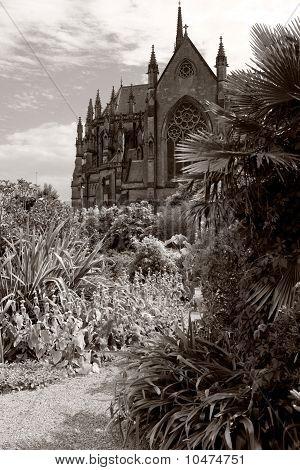Jardín de la Catedral de Arundel