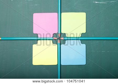 Colorful School Set