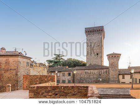 Cathedral Of The Collegiate Lucignano