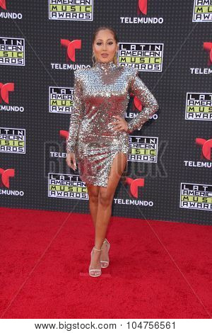 LOS ANGELES - OCT 8:  Adrienne Bailon at the Latin American Music Awards at the Dolby Theater on October 8, 2015 in Los Angeles, CA